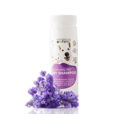 Pannatural Pets Natural Dry Shampoo Powder