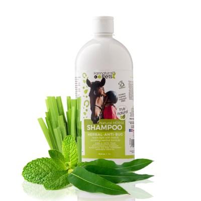 Pannatural Pets Natural Horse Shampoo Anti Bug