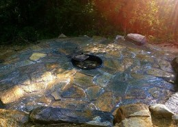 OUTDOOR LIVING STONE FIRE PIT