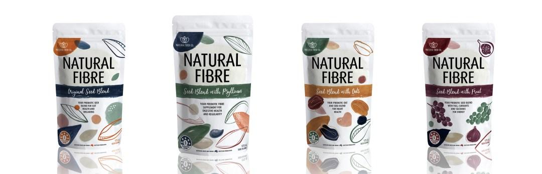 Natural Fibre Seed Blend Range