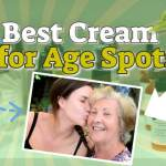 "Image with text: ""Best cream for age spots""."