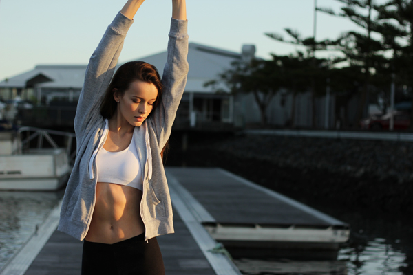 Exercise for healthy skin