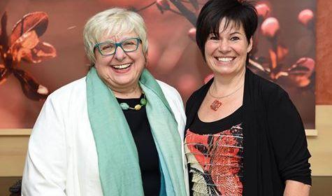 Sabine Asgodom und Doris Jäger