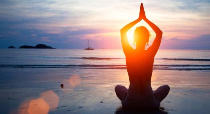 Calmness during meditation