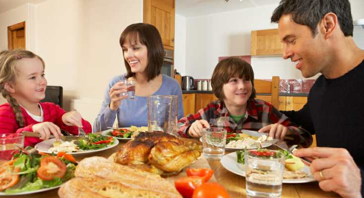 Family time can be healthy time