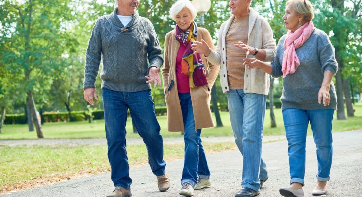 Healthy activity helps prevent aging