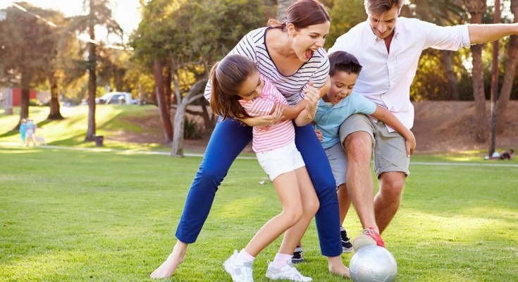 benefits of outdoor family time