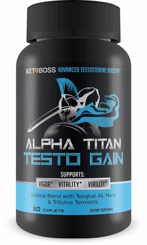 Alpha Titan Testo Gain testosterone supplements