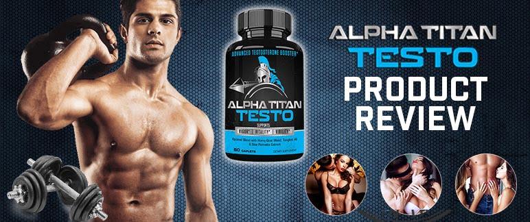 Alpha Titan Testo pills