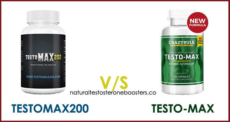 TestoMax200 vs Testo-Max testosterone boosting supplements review