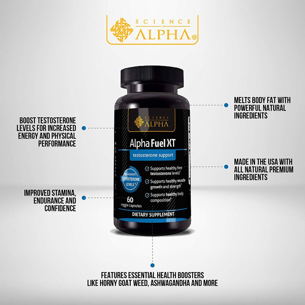 the formula of Alpha Fuel XT