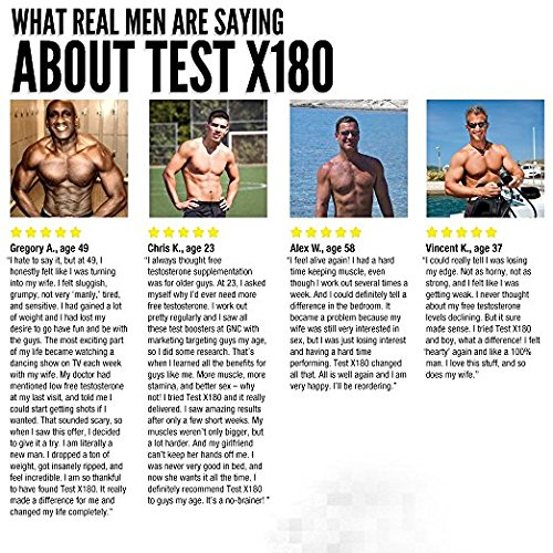 Test X180 results