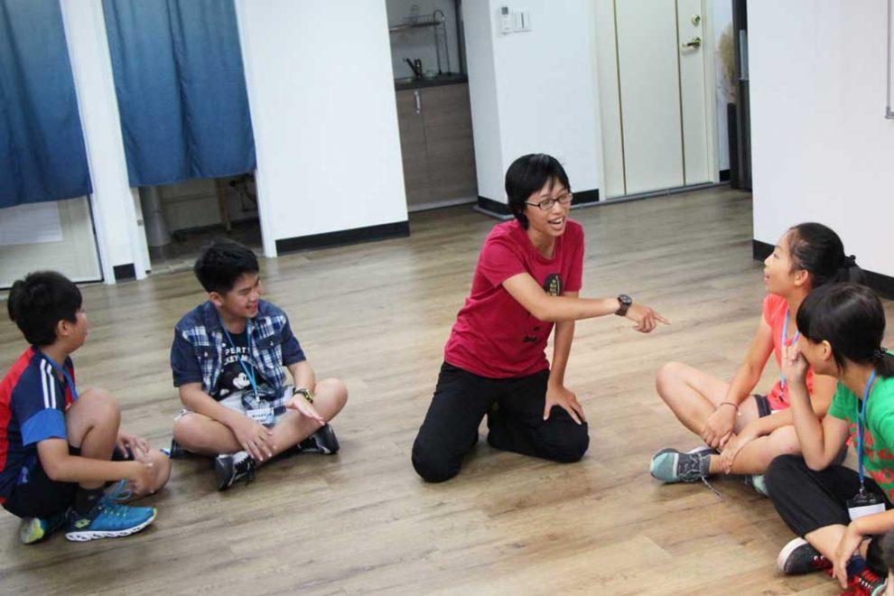 學員團體練習