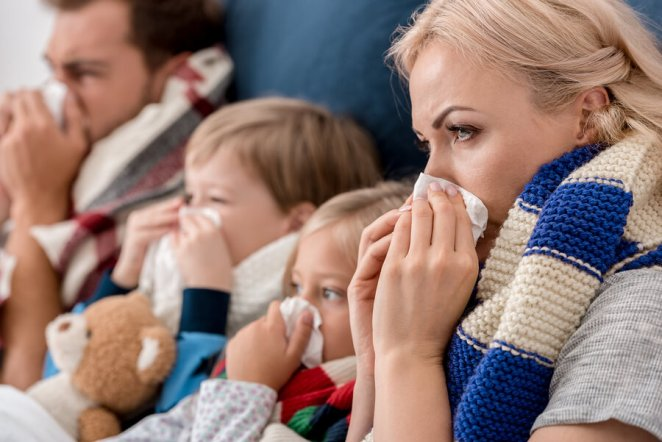 Sick Family - Looking for Cold Remedies
