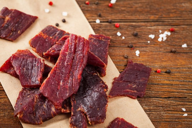 Preserve food dried meat