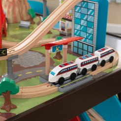 Kidkraft wooden train table