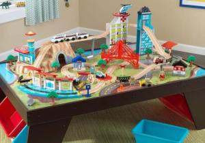 Kidkraft wooden train table review ( Latest 2021 review )