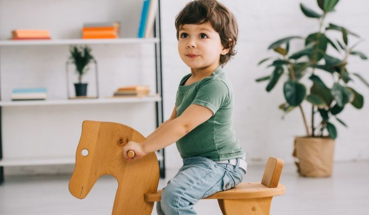 What types of wood are suitable for children's toys?