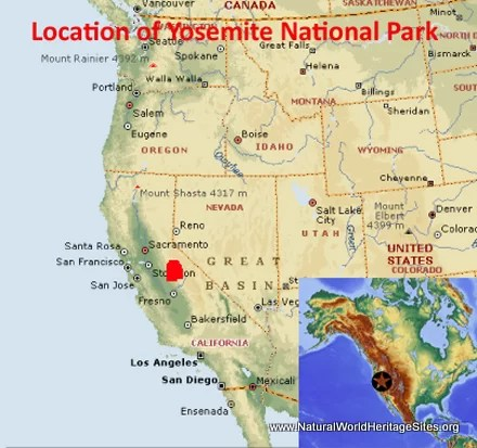 Yosemite National Park - Natural World Heritage Sites on tacoma map usa, atlanta map usa, liberty map usa, mojave map usa, kentucky map usa, weed map usa, malibu map usa, santa monica map usa, death valley map usa, columbia map usa, ecology map usa, animal map usa, grand canyon map usa, riverside map usa, oakland map usa, long beach map usa, anaheim map usa, california city map usa, united states map usa, yellowstone map usa,