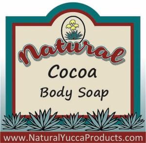 cocoa, natural, soap, reveratrol, https://naturalyuccaproducts.com/natural-yucca-soap/