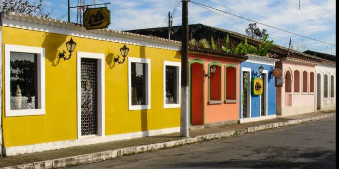 Centro Histórico de Cananéia foto