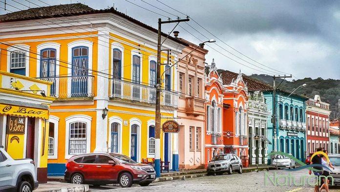 Centro Histórico em Iguape foto