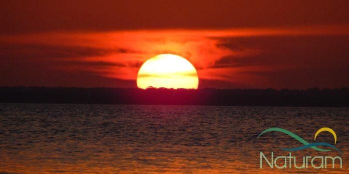 Alter do Chão - Pôr do sol foto
