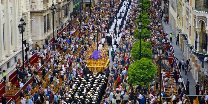 Semana Santa em Sevilha foto