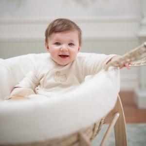 Babygrow with Vichy Bunny Application
