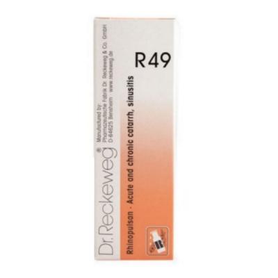 Dr Reckeweg R49 Rhinopulsan 22Ml Natura Right
