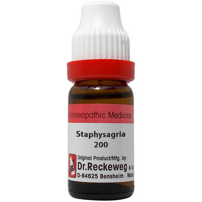 Dr Reckeweg Staphysagria 200 Ch 11Ml Natura Right