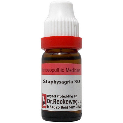 Dr Reckeweg Staphysagria 30 Ch 11Ml Natura Right