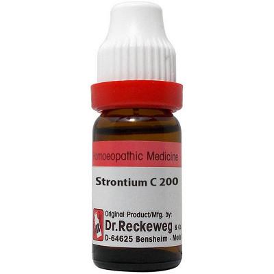 Dr Reckeweg Strontium Carbonicum 200 CH 11ml