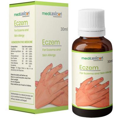 Medilexicon Eczem Drops 30Ml Natura Right