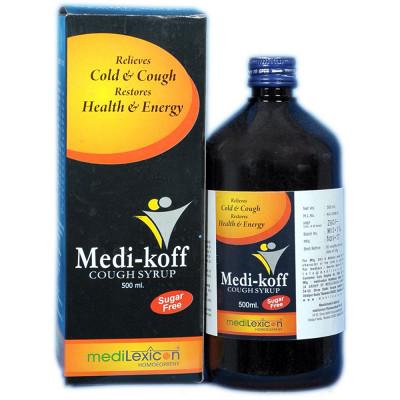 Medilexicon Medi Koff Cough Syrup Sugar Free Syrup 500ml