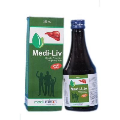 Medilexicon Medi Liv Hepato Protective Sugar Free Syrup 200Ml Natura Right
