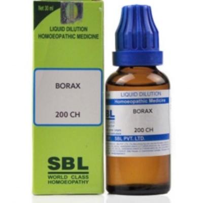 Sbl Borax 200 Ch 30Ml Natura Right