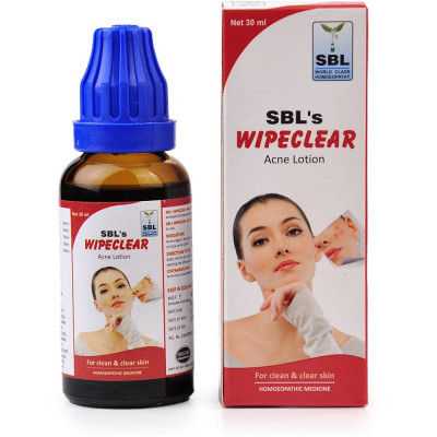 Sbl Wipeclear Acne Lotion 30Ml Natura Right