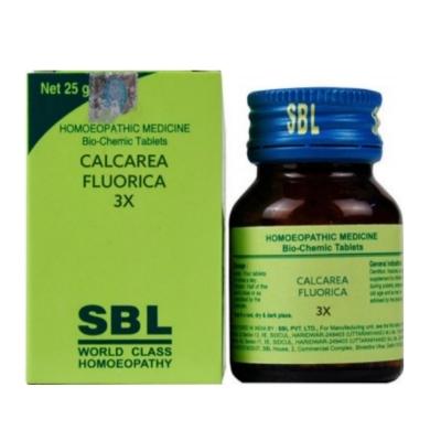 Sbl Calcarea Fluoricum 3X 25G Natura Right