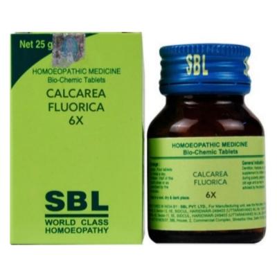 Sbl Calcarea Fluoricum 6X 25G Natura Right