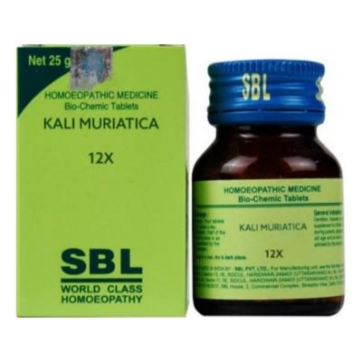 Sbl Kali Muriaticum 12X 25G Natura Right