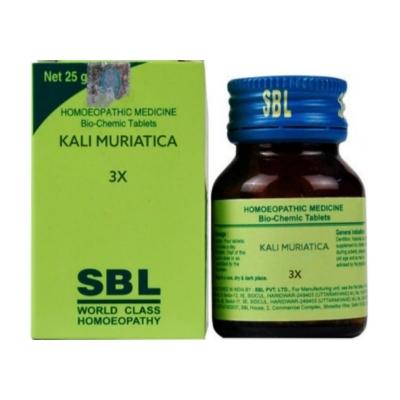 Sbl Kali Muriaticum 3X 25G Natura Right