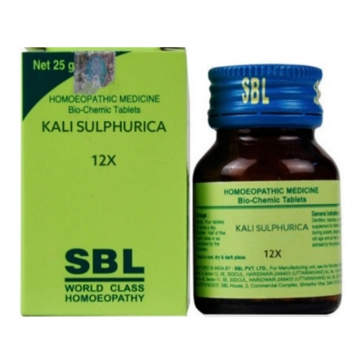 Sbl Kali Sulphuricum 12X 25G Natura Right