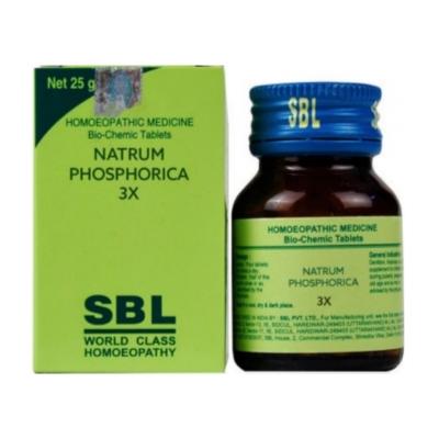 Sbl Natrum Phosphoricum 3X 25G Natura Right