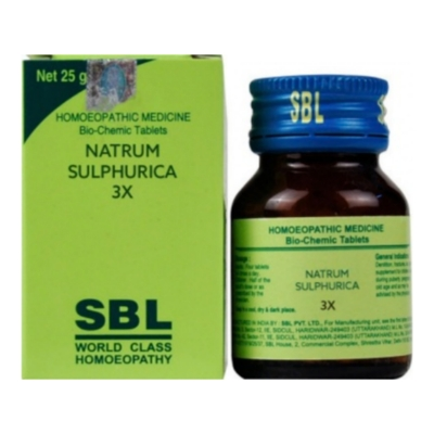 SBL Natrum Sulphuricum 3X 25g