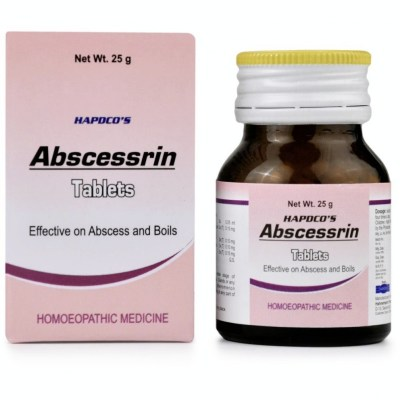 Hapdco Abscessrin Tablets 25G Natura Right