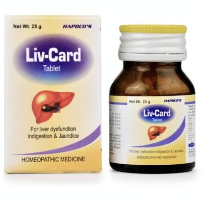 Hapdco Liv Card Tablets 25g