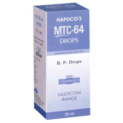 Hapdco Mtc 64 Bp Drops 30Ml Natura Right
