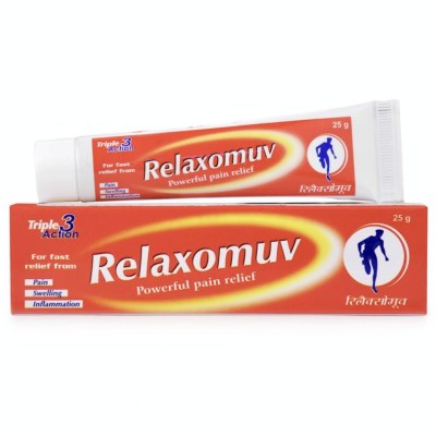 Hapdco Relaxomuv Ointment 25G Natura Right
