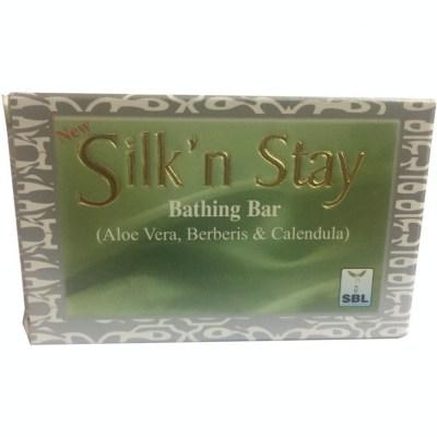 Sbl Silk N Stay Aloe Vera Berberis And Calendula Soap 75G Natura Right